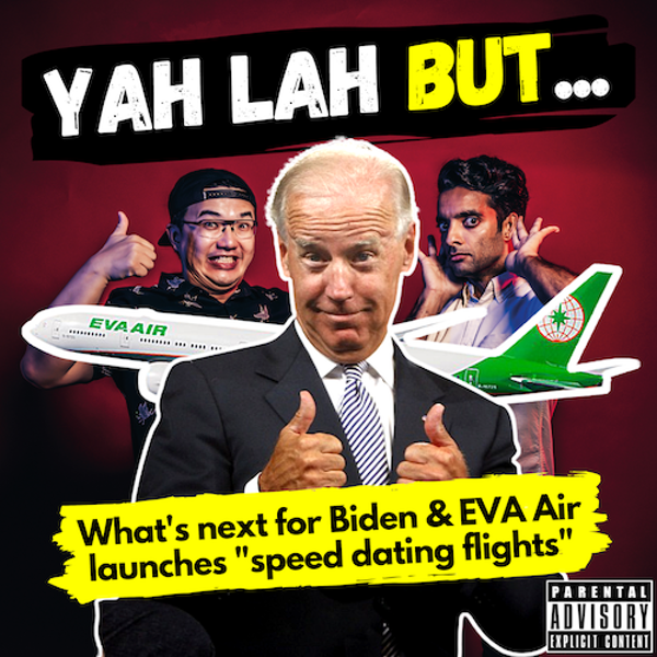 YLB #104 - What's next after Biden finally beats Trump & EVA Air launches speed dating on flights