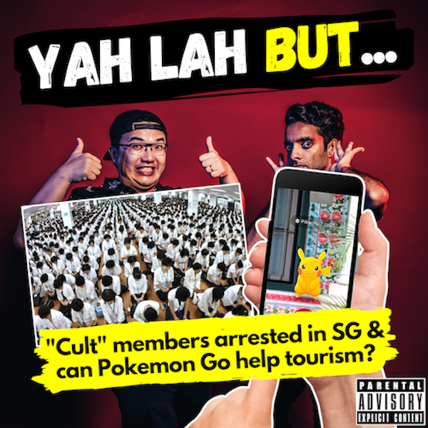 """YLB #105 - 21 members of S Korean """"cult"""" arrested in Singapore & can STB + Pokemon Go help tourism?"""
