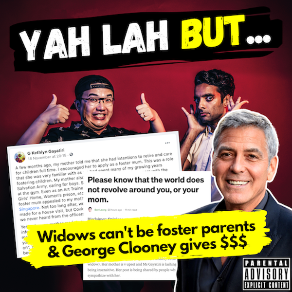 YLB #107 - A widow gets rejected as a foster parent by the authorities & George Clooney gives his friends $1 million each