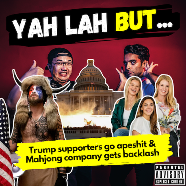 YLB #117 - Rioters run wild on Capitol Hill & the 3 women accused of whitewashing Mahjong