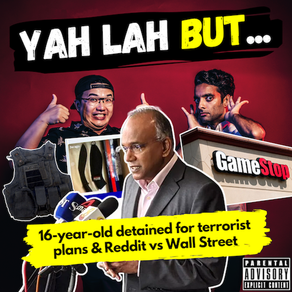 YLB #123 - Sec 4 student detained for terrorist attack plans & Redditors take on Wall Street with GameStop stock