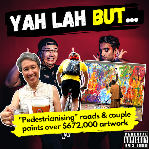 """YLB #147 - """"Pedestrianise"""" road experiment gets mixed reactions & the couple who painted over a $672,000 artwork"""