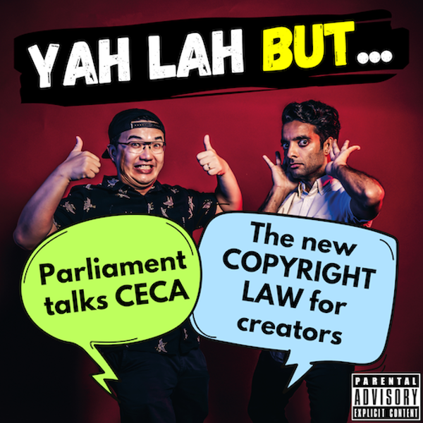 #180 - The Parliamentary showdown about CECA & the proposed Copyright law to protect content creators