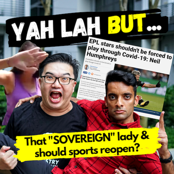 """YLB #51 - Can we all be SOVEREIGN too and should athletes just """"suck it up"""" and help sports reopen?"""