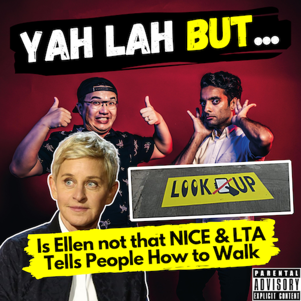 """YLB #82 - Is Ellen not so """"KIND"""" Afterall & LTA Releases Guidelines for Pedestrians"""