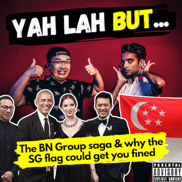 YLB #94 - The Bellagraph Nova Group saga & hanging the SG Flag could get you fined $1,000