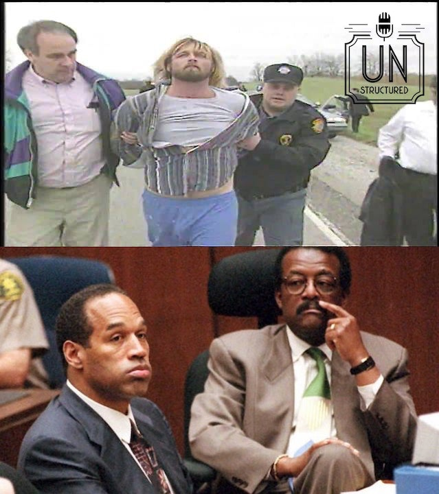 John Eckberg claims that OJ didn't commit the actual acts