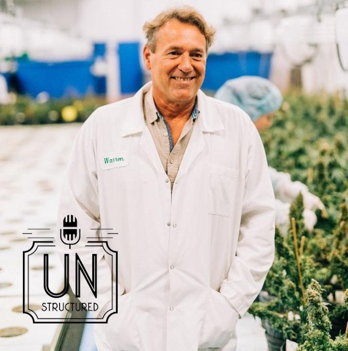 Warren Bravo of Green Relief grows medical cannabis using aquaponics