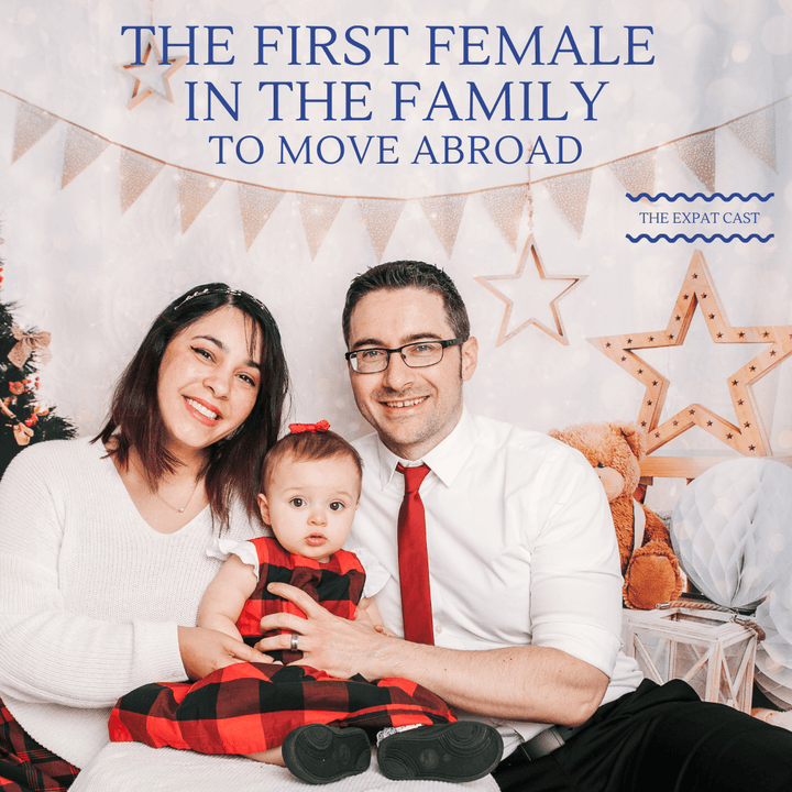 First Female in the Family to Move Abroad with Reina