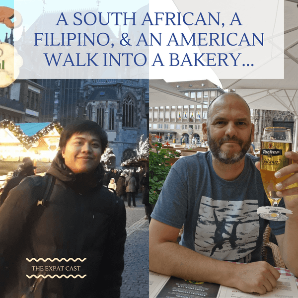 A South African, a Filipino,& an American Walk into a Bakery... with Shaun & Lawin