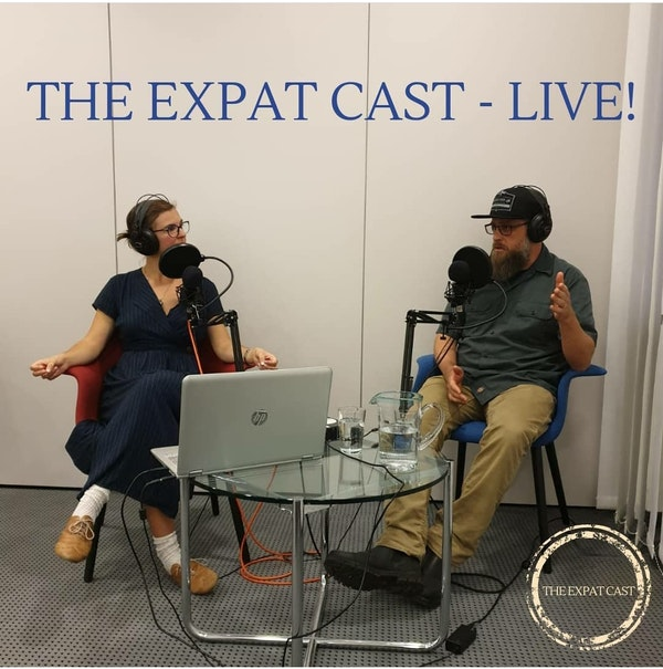 The Expat Cast Live at the Carl Schurz Haus with James