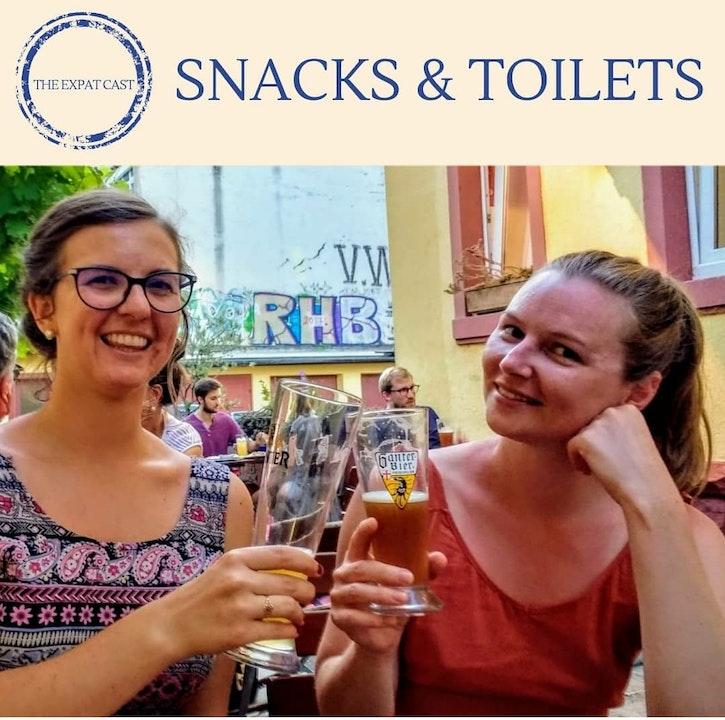 Snacks & Toilets with Trash Jenny