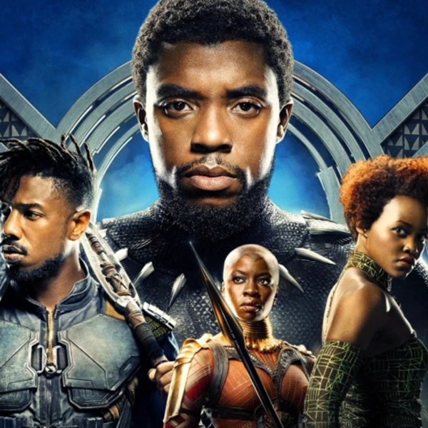 Black Panther with Nick Image