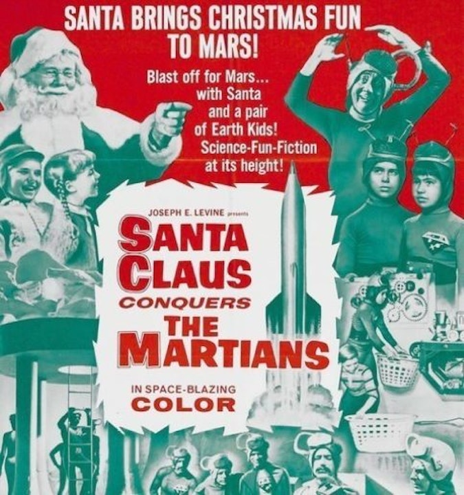 Santa Conquers the Martians with Vince