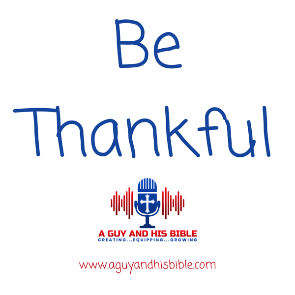 Be Thankful Image