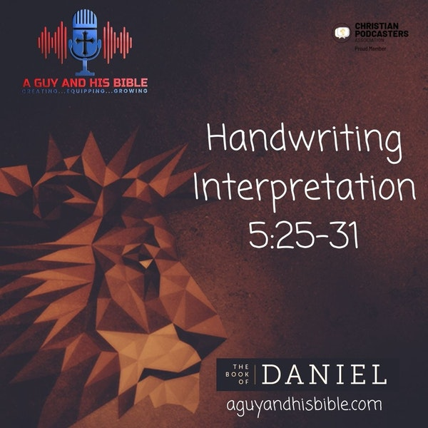 Daniel 5 25-31 Image