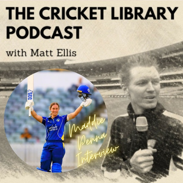 Maddie Penna - Special Guest on the Cricket Library Podcast