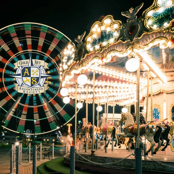 Summer Vacation Memories: Amusement Parks and Roller Coasters Image