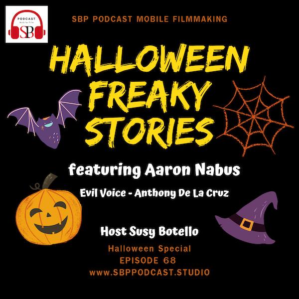 Halloween Freaky Stories with Aaron Nabus Image