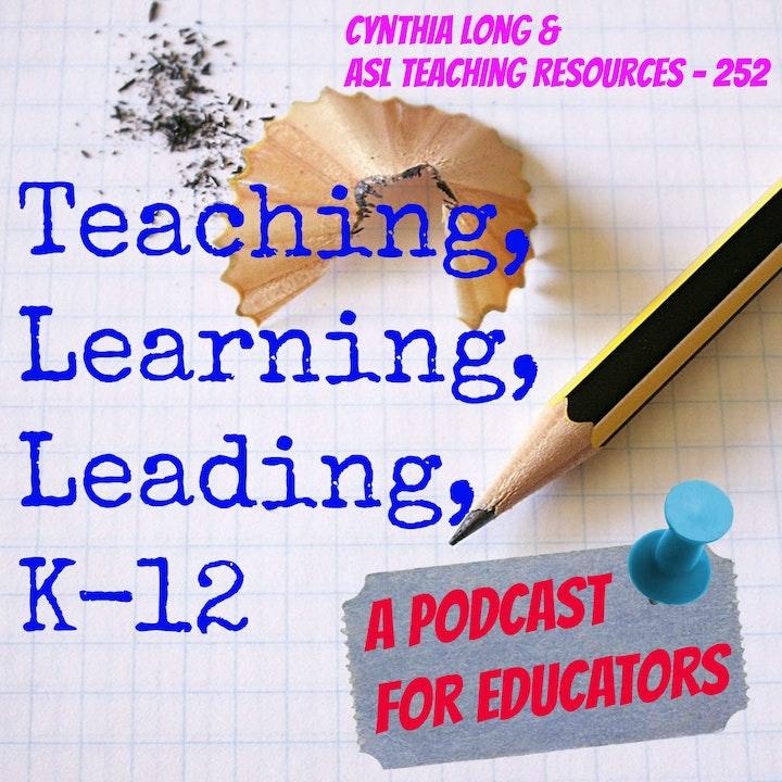 Cynthia Long & ASL Teaching Resources - 252
