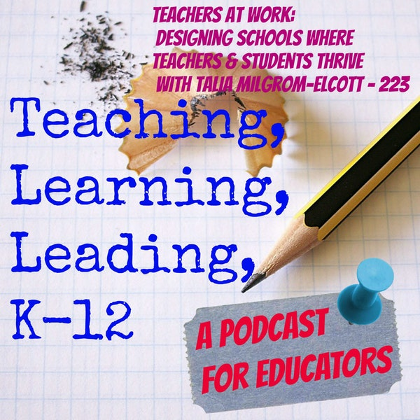 Teachers at Work: Designing Schools Where Teachers and Students Thrive with Talia Milgrom-Elcott - 223 Image