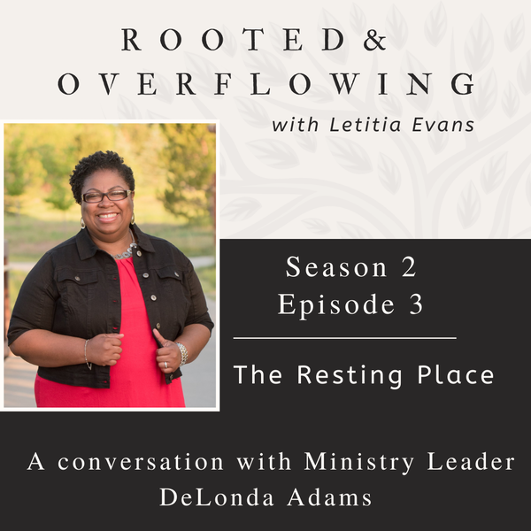The Resting Place   A Conversation with DeLonda Adams