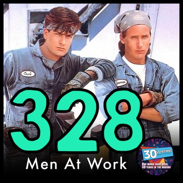 "Episode #328: ""Golf clap?"" | Men At Work (1990) Image"
