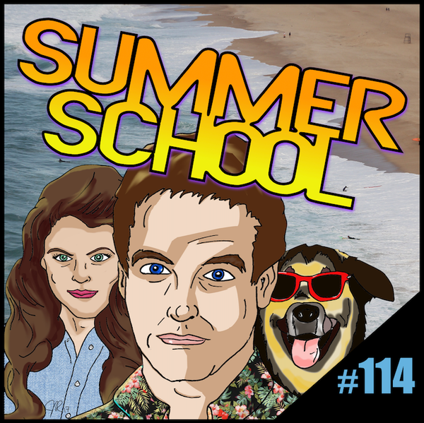 "Episode #114: ""Life's A Beach"" | Summer School (1987) Image"
