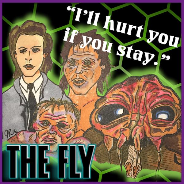 "Episode #96: ""Brundlefly"" | The Fly (1986) Image"