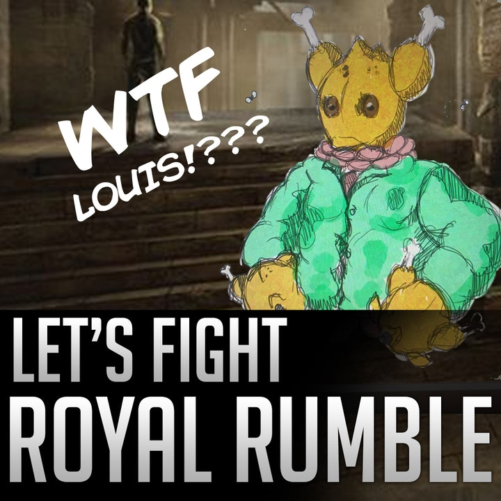050d - Let's Fight - Royal Rumble (Louis covers himself with meat!??)