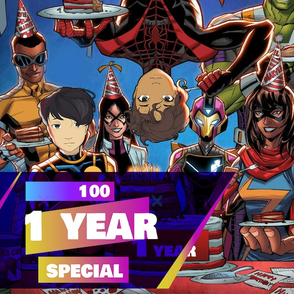 100f - 1 Year Special Episode! (Surprises, Announcements, Listener Questions and more!)