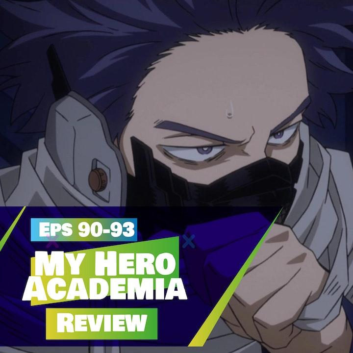 My Hero Academia (Season 5 - Episodes 90-93) Review