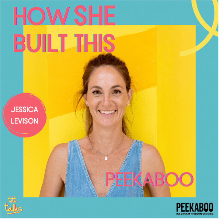 How SHE Built This: PEEKABOO ICE CREAM + HIDDEN VEGGIES