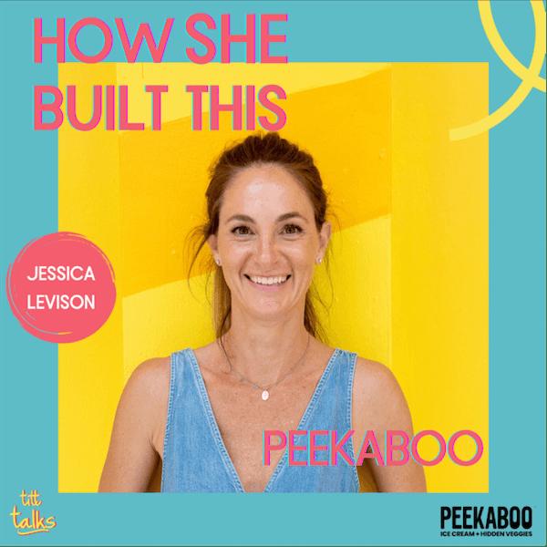 How SHE Built This: PEEKABOO ICE CREAM + HIDDEN VEGGIES Image