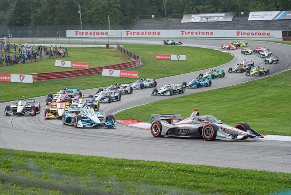 Will Power on Conquering Mid-Ohio with his Race 1 Victory
