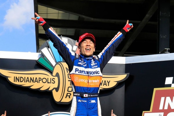 Takuma Sato is a Two Time Indianapolis 500 Champion! Image