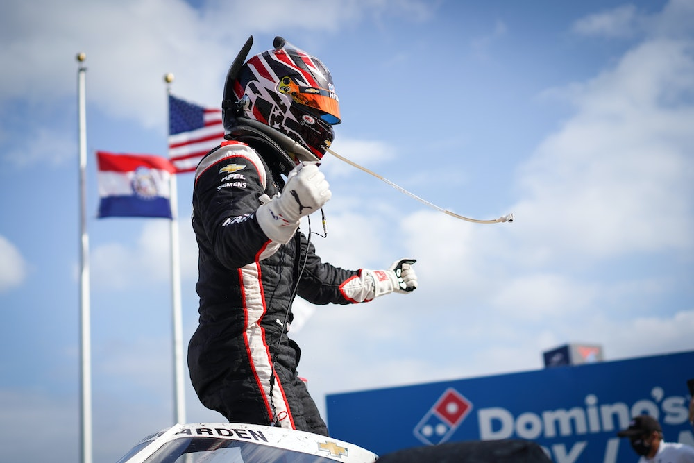 Catching Up with Josef Newgarden