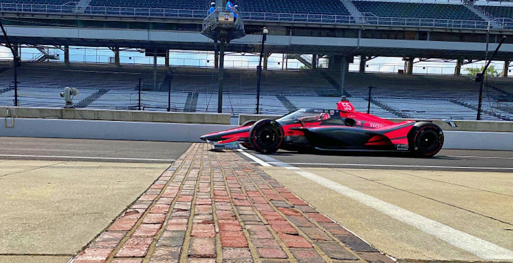 Talking Indianapolis 500 with Alex Palou