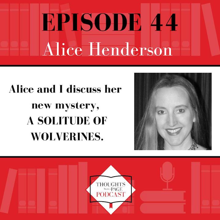 Alice Henderson - A SOLITUDE OF WOLVERINES