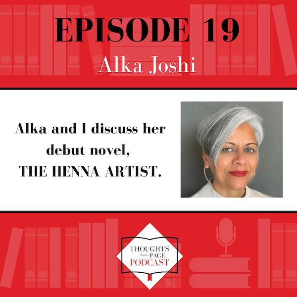 Alka Joshi - THE HENNA ARTIST Image