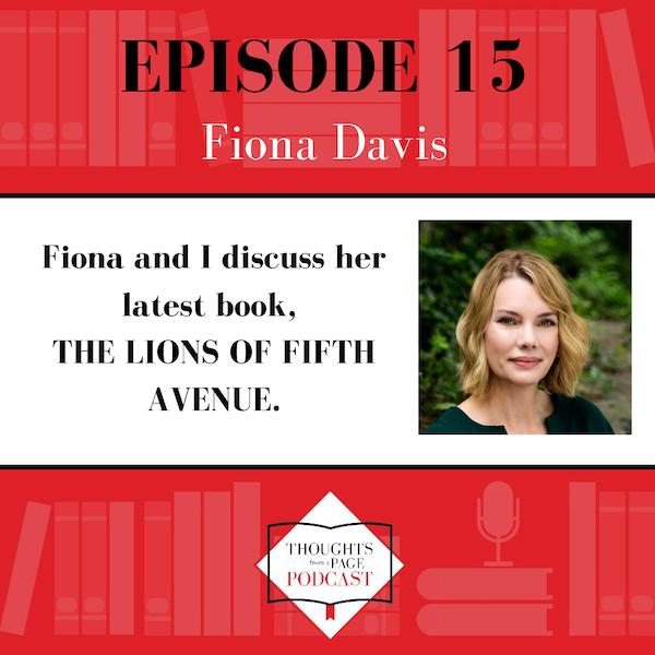 Fiona Davis - THE LIONS OF FIFTH AVENUE Image