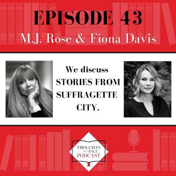 Fiona Davis & M.J. Rose - STORIES FROM SUFFRAGETTE CITY
