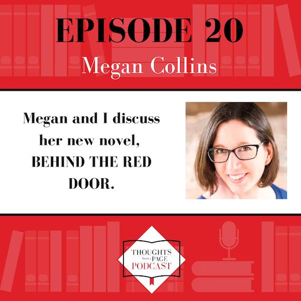 Megan Collins - BEHIND THE RED DOOR Image