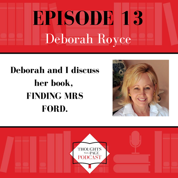Deborah Royce - FINDING MRS. FORD