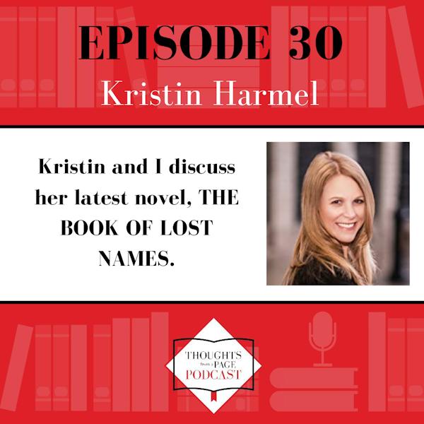 Kristin Harmel - THE BOOK OF LOST NAMES Image