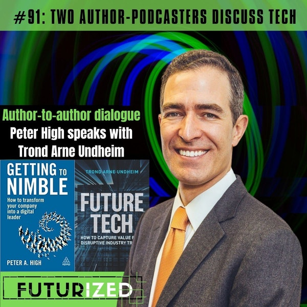 Two Author-Podcasters Discuss Tech Image