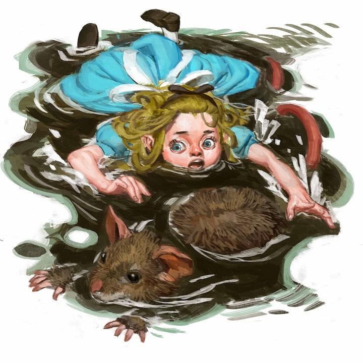 Glaiza Visits Wonderland: The Pool of Tears