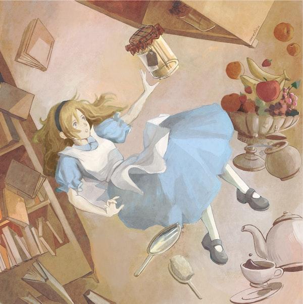 Glaiza Visits Wonderland: Down the Rabbit Hole Image