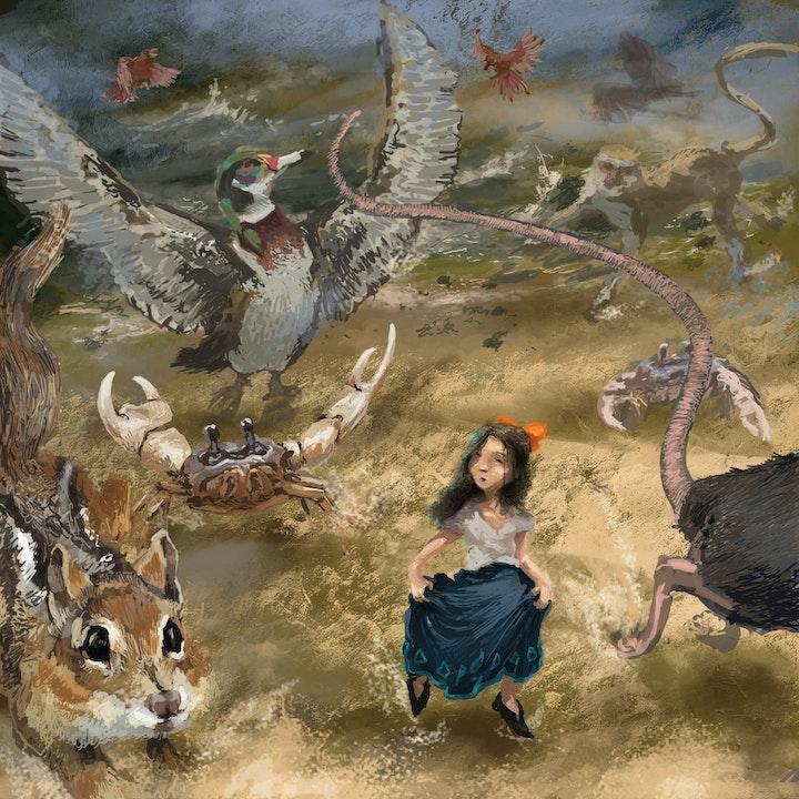 Glaiza Visits Wonderland: A Caucus-Race and a Long Tale