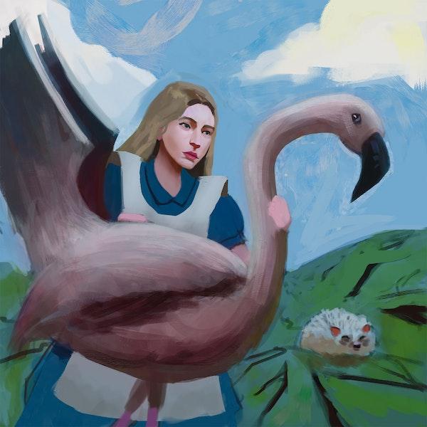 Glaiza Visits Wonderland: The Queen's Croquet-Ground Image